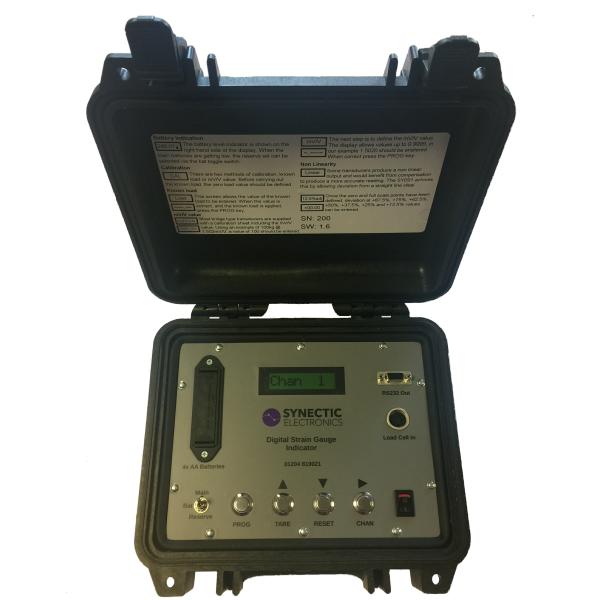 Portable Strain Gauge Indicator