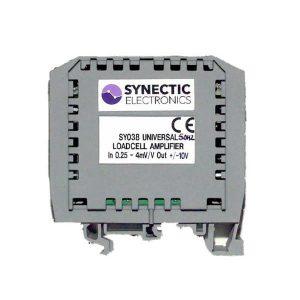Din rail Mount load cell amplifier